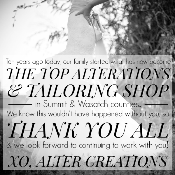 Alter Creations's Tenth Anniversary