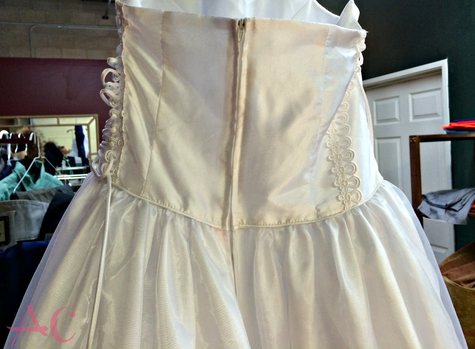 First Communion Dress Alterations