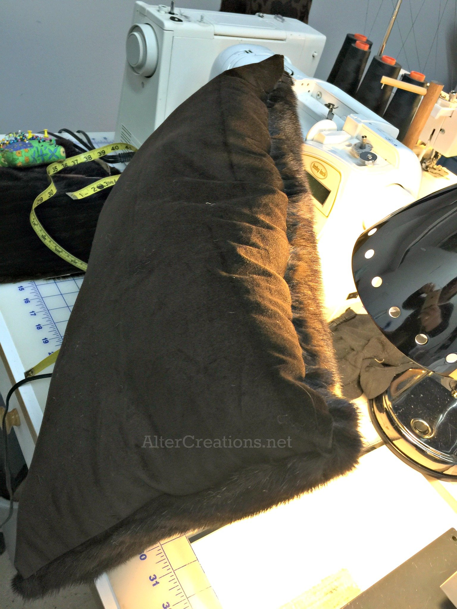 Mink pillow alterations