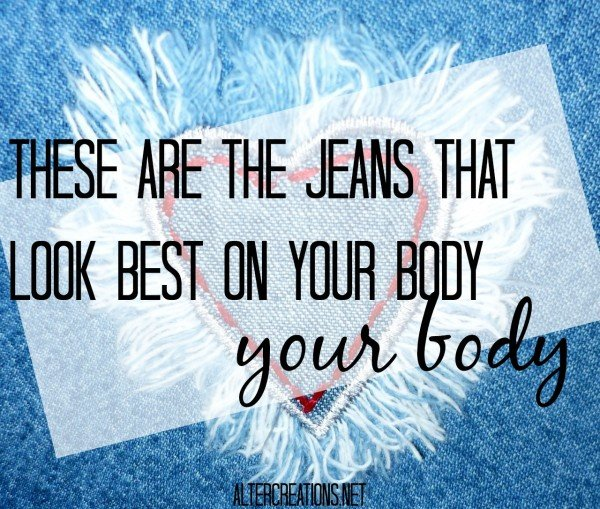 Jeans for my body type