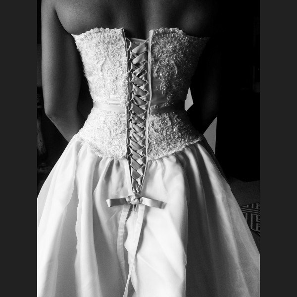 Corset back Wedding Dress Utah