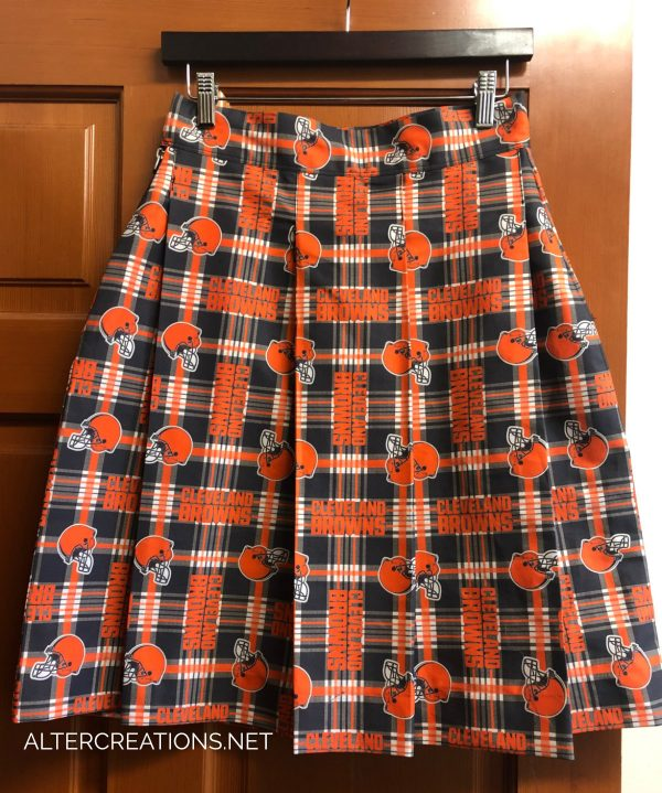 Custom Cleveland Browns skirt made for a fan